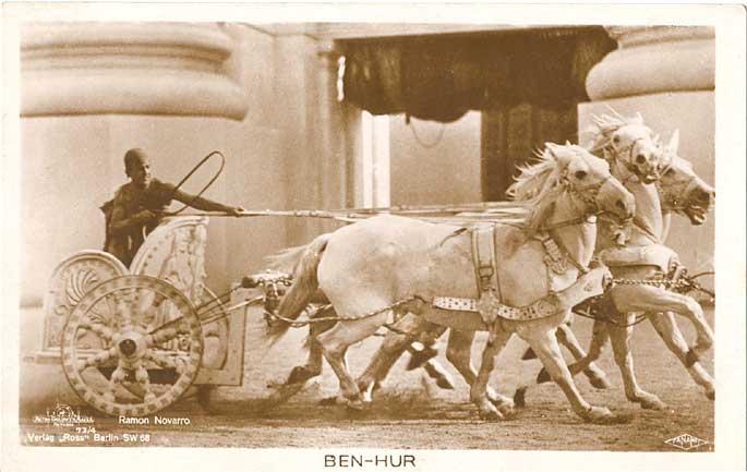 Ramon Novarro - závody v cirku