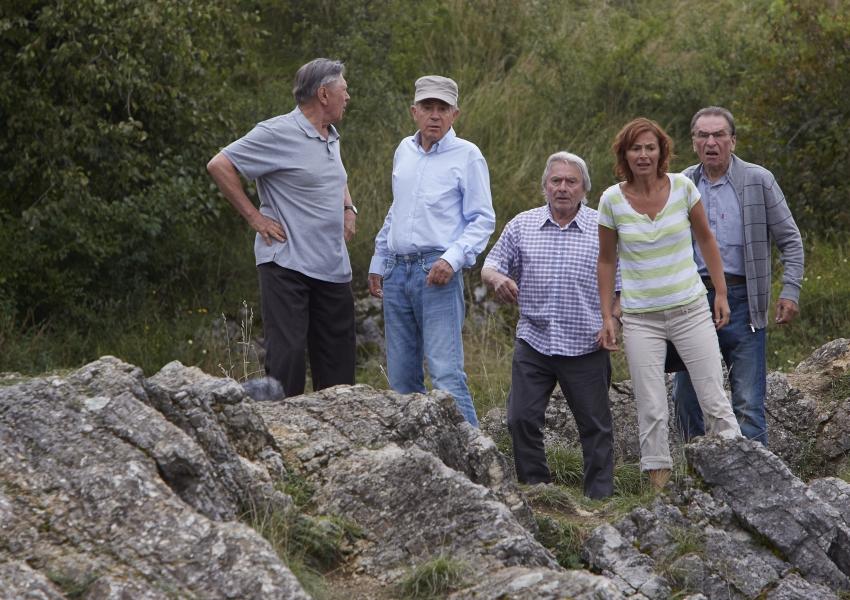 Petr Kostka, Jan Tříska, Ladislav Mrkvička a František Němec