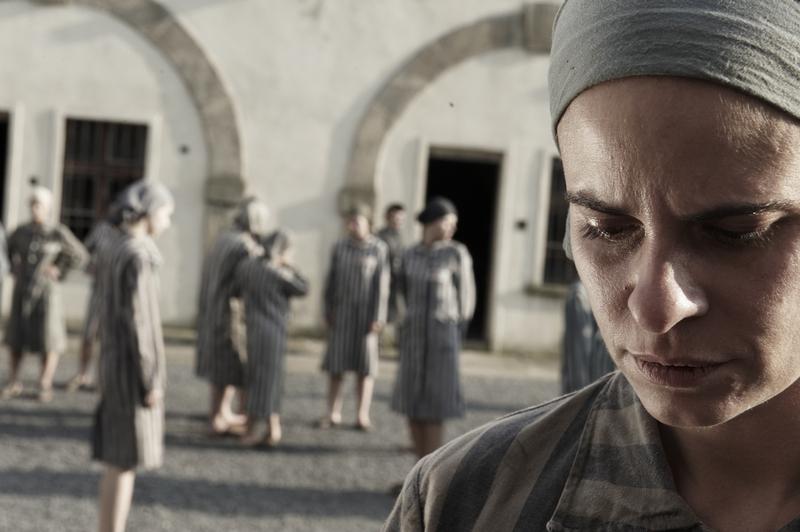 Natáčení v Terezíně - Marie Vaňková v pracovním táboře:  Zuzana Fialová