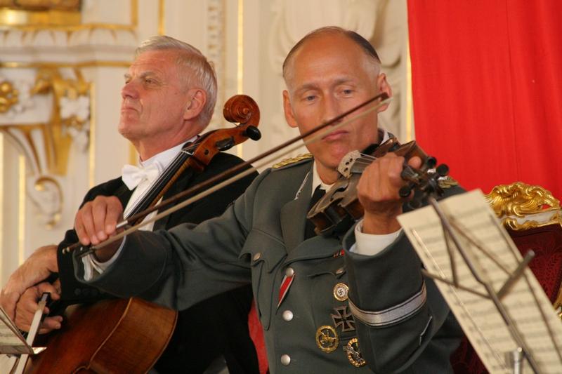 Natáčení na Pražském hradě - Heydrich hraje na housle: Detlef Bothe