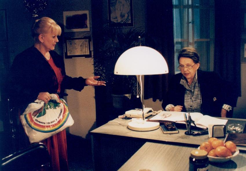 Zdena Herfortová a Jiřina Jirásková