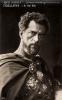 """Italská pohlednice, ed. A. Traldi, Milano, No. 670. Raimondo Van Riel jako Tigellinus v """"Quo vadis?"""" (Gabriellino D'Annunzio/Georg Jacoby 1925), produkce - UCI (Unione Cinematografica Italiana)."""