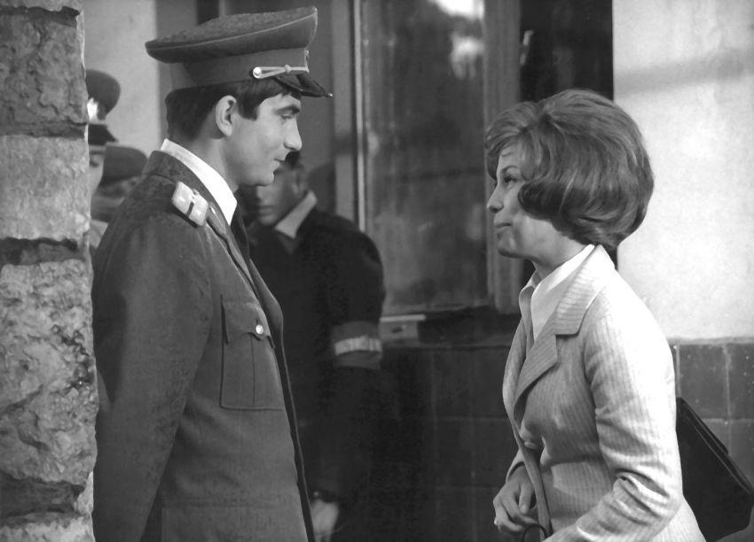 Vysoká modrá zeď (1973)