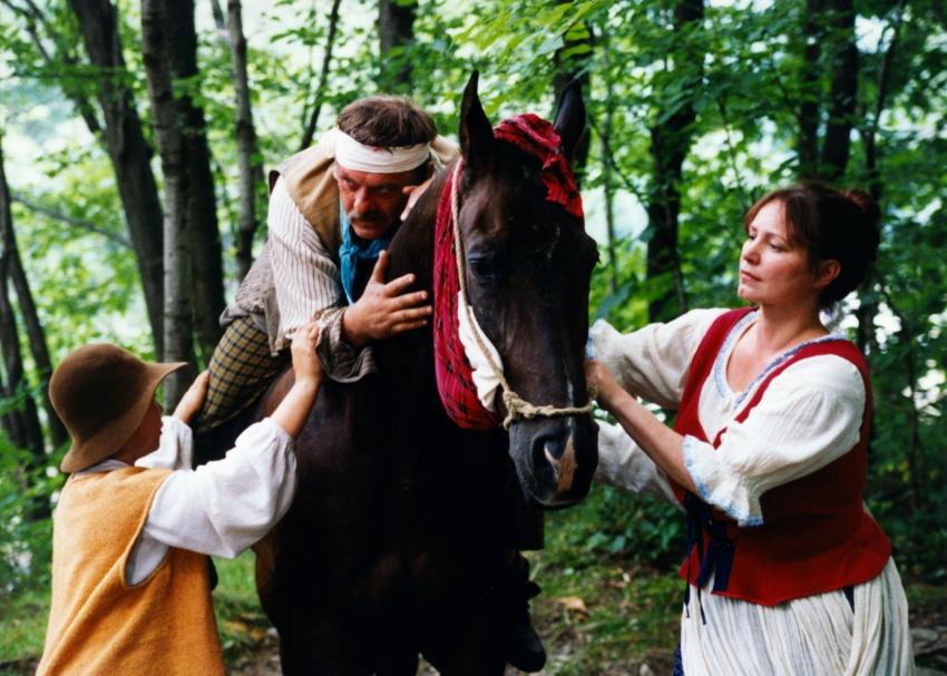 Miroslav Hruška a Alena Sasínová-Polarczyk