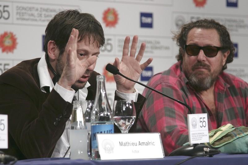 Mathieu Amalric a Julian Schnabel
