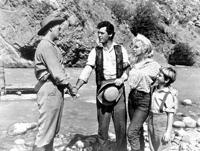 Rory Calhoun Marilyn Monroe Robert Mitchum Tommy Rettig
