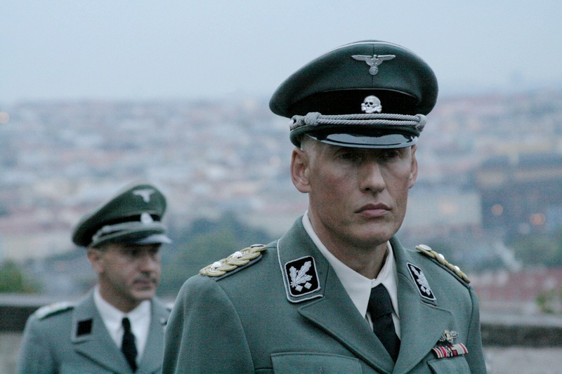 Natáčení na Pražském hradě