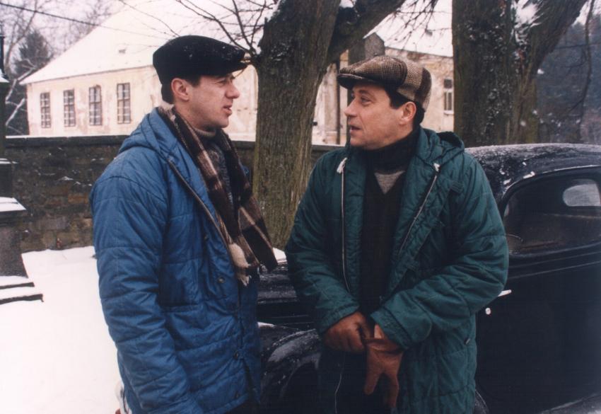 Jiří Langmajer a Pavel Kříž