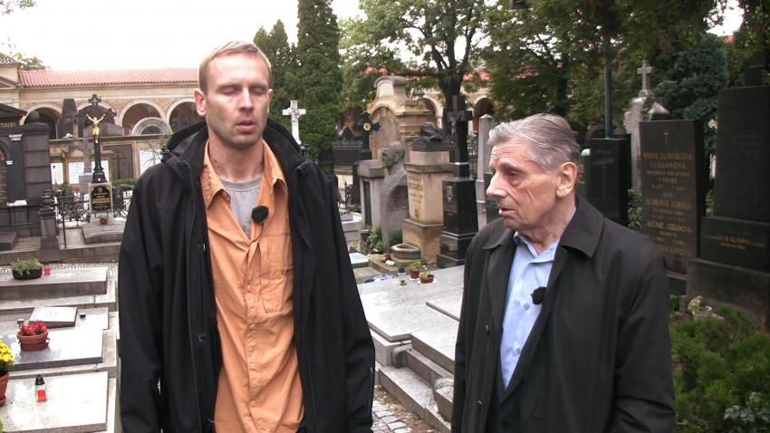 Reportáž - krotitelé duchů - vpravo Andrej Dragomirecký
