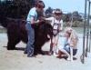 Chlapec s velkým černým psem (1986)