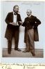 "fotografie z div. představení ""Naučný slovník"" - 01.07.1916, Karel Kolár (Kleinecke), František Gerlický (Schneider)"