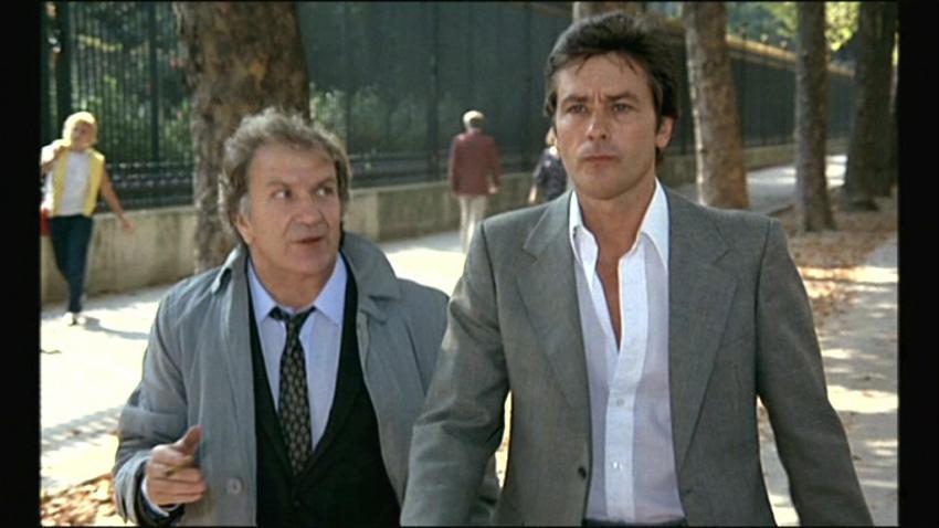 Pierre Mondy a Alain Delon