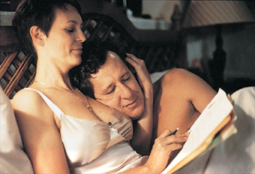 Jamie Lee Curtis a Geoffrey Rush