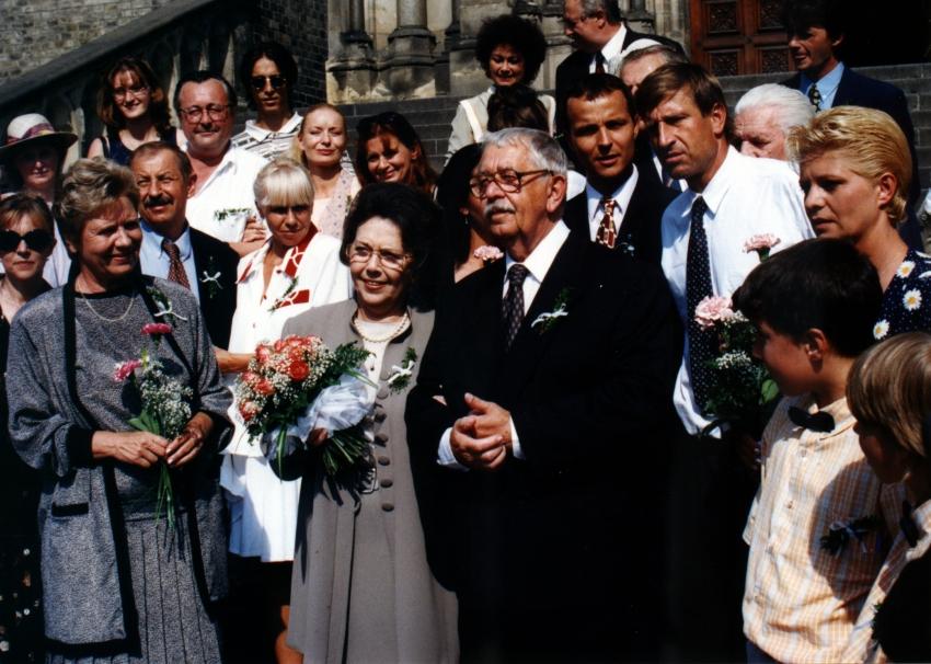 Jiřina Jirásková a Vlastimil Brodský
