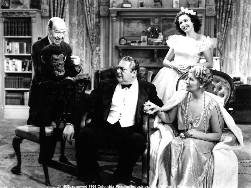 Donald Meek,  Edward Arnold, Ann Miller, Mary Forbes