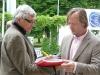 před tiskovou konferencí Peter Hledík a  Karel Roden