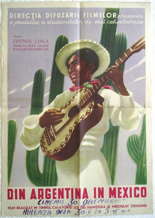 Z Argentiny do Mexika (1954)