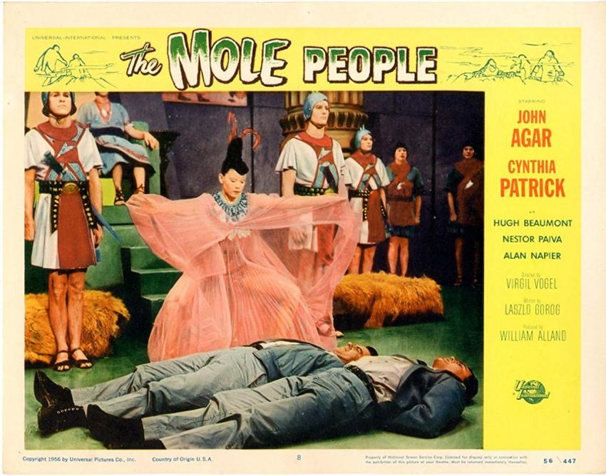 The Mole People (1956)