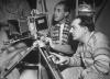 """Fritz Lang a Curt Courant - foto - Bundesarchiv / foto z natáčení filmu """"Frau im Mond"""""""