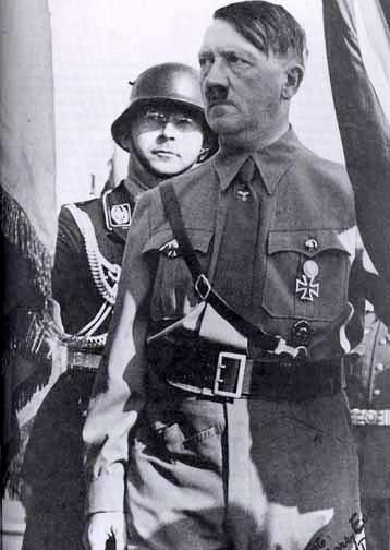 Heinrich Himmler, Adolf Hitler