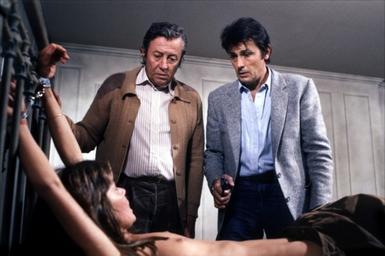 Michel Auclair, Alain Delon a Anne Parillaud
