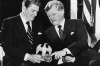 Ronald Reagan a Edward Kennedy