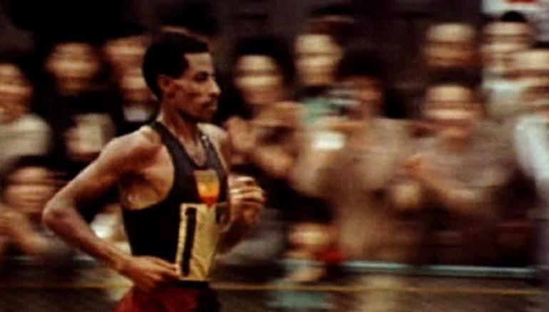 Abebe Bikila – archivní záběry