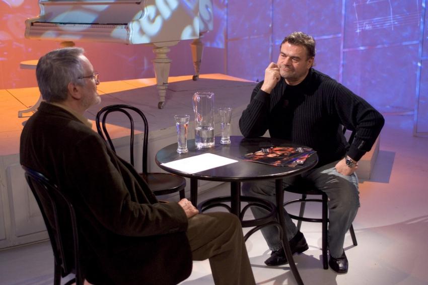 Milan Lasica a Karel Svoboda