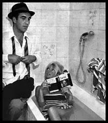 Michel Piccoli a Brigitte Bardot