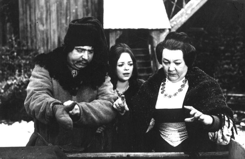 Vladimír Menšík, Dana Hlaváčová, Carola Braunbock
