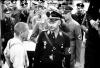 Heinrich Himmler na návšteve koncentračného tábora