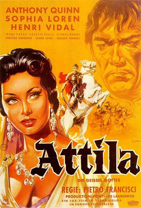 Attila - král Hunů (1954)