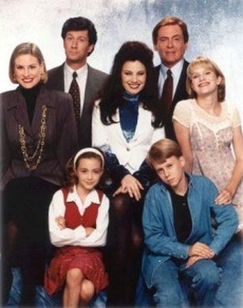 Chůva k pohledání (1993) [TV seriál] - rodina Maxwella Sheffielda + chůva Fran Fine + sluha Niles+ Chastity Claire , Babcook ,