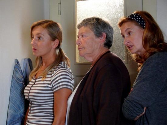 Vanda Hybnerová, Lilian Malkina a Eva Holubová