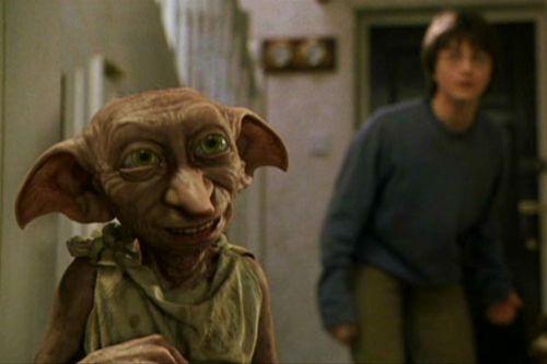 Dobby - domácí skřítek + Harry Potter