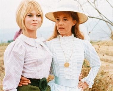 Brigitte Bardot a Jeanne Moreau