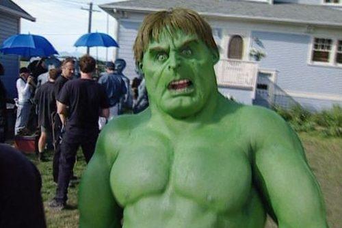Tom Woodruff jako Hulk z alternativního konce filmu Scary Movie 3