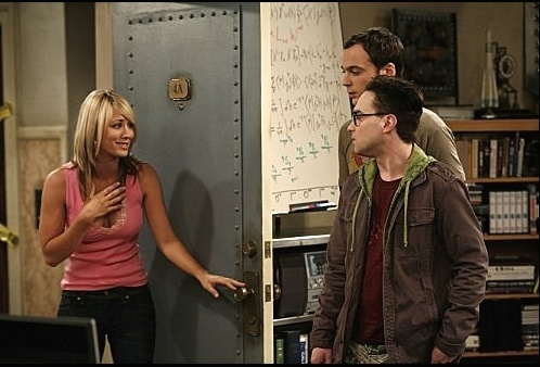 Johnny Galecki Jim Parsons Kaley Cuoco