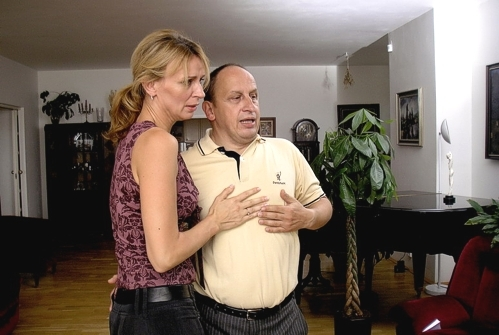 rodiče Michala (Ivana Chýlková a Jan Kraus)