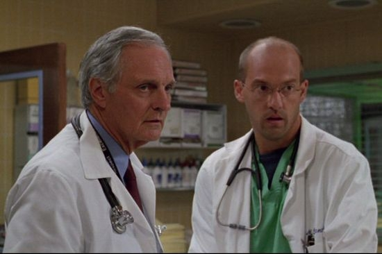 Alan Alda + Anthony Edwards