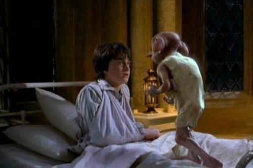 Harry Potter + Dobby - domácí skřítek