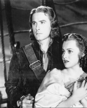 Errol Flynn  a Olivia de Havilland