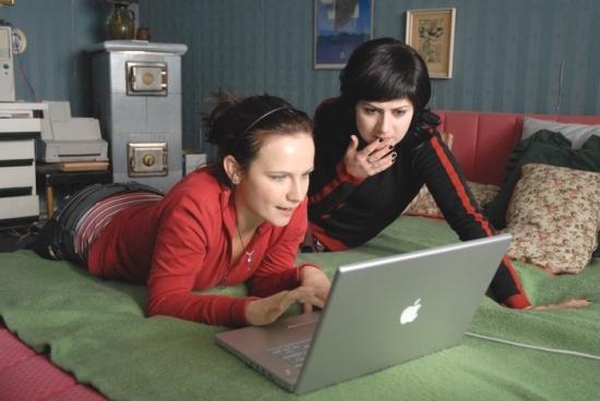 Martha Issová a Kristýna Nováková