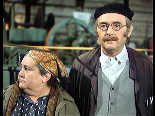 Marie Motlová a Jiří Sovák