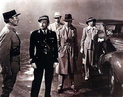 Humprey Bogart a Ingrid Bergman