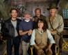 Harrison Ford Karen Allen Ray Winstone Shia LaBeouf Steven Spielberg