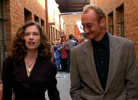 Heather Langenkamp + Robert Englund