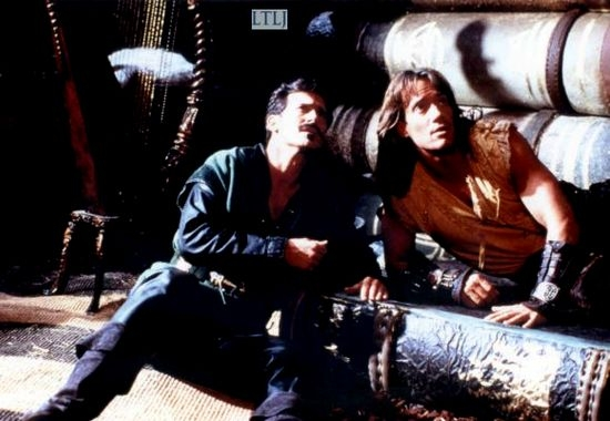 Bruce Campbell + Kevin Sorbo
