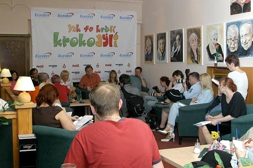 Tisková konference před zahájením natáčení (26. 5. 2005)