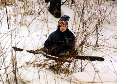 Na lyžích - Ladislav Ondřej